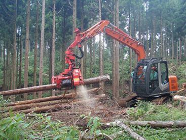 高性能林業機械とは